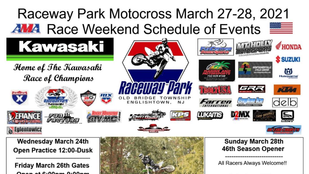 AMA D2 Round 2 – This Weekend – Raceway Park