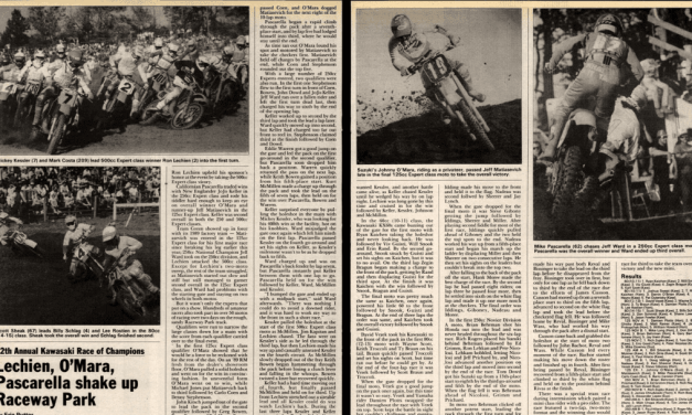 KROC 1988 – Cycle News Coverage