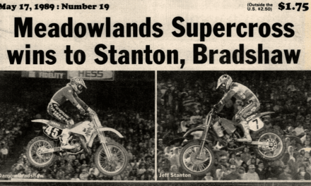 GIANTS STADIUM SUPERCROSS RESULTS 1989