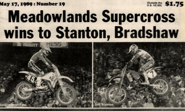 GIANTS STADIUM SUPERCROSS RESULTS 1989