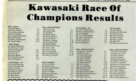 Results from KROC 1984