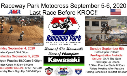 Raceway Park Motocross – This Weekend