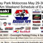 Raceway Park – Weekend Schedule