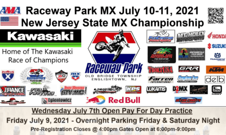 Raceway Park this Weekend – UPDATED 7/6/21