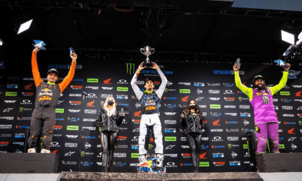 National Coverage – Monster Energy Supercross – SLC 1 – Round 16