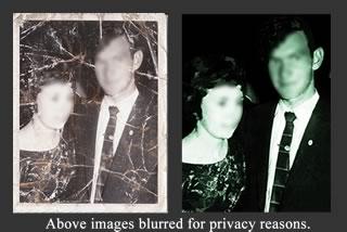 photo restoration service based in dublin