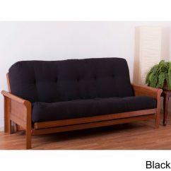 Dhp Allegra Pillow Top Futon Sofa Bed Versatility Cube Rattan Garden Furniture Set Cheapest Futons Online Roselawnlutheran