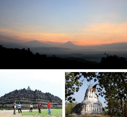 Njogja One Day Tour Puntuk Setumbu - Gereja Ayam - Borobudur