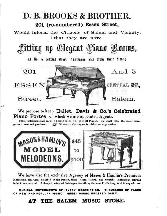 Brooks Advertisement