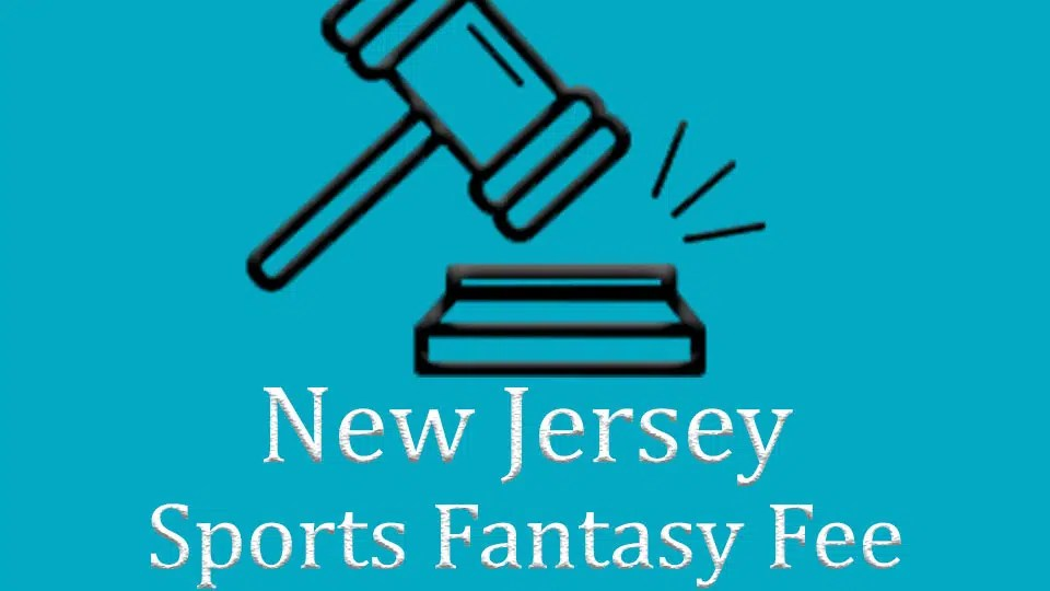 New Jersey set to implement new sports fantasy fee