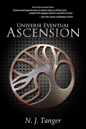 Ascension by N.J. Tanger: A serialized science fiction novella with new episodes every week