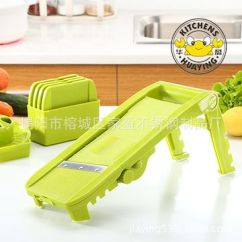Mandolin Kitchen Slicer Modern Hardware 淘宝热销塑料手动刨丝磨泥切片套装 宁波揭阳家盈不锈钢制品厂