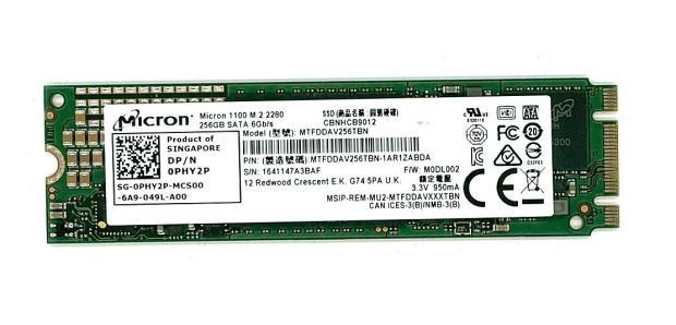 Micron M.2 SSD 256GB