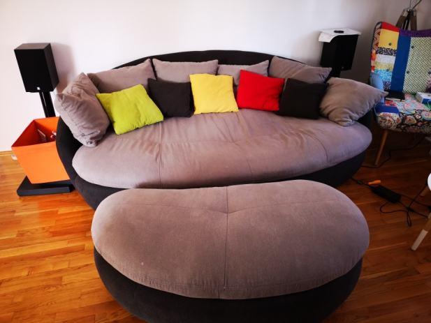 mega sofa lay z boy reviews s tabureom