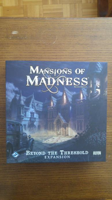 Mansions of Madness 2nd Edition Beyond the Threshold ekspanzija