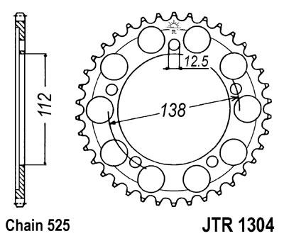 Set lanac + lančanici Honda CBR 900RR 96-99