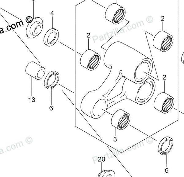 Suzuki Rear Shock Absorber Kit
