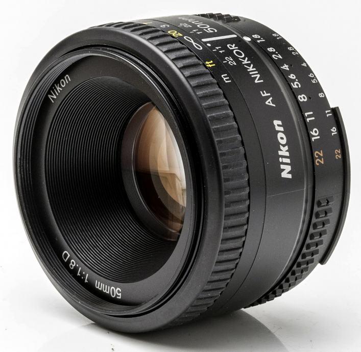 Nikon Nikkor 50 mm F1.8 D AF