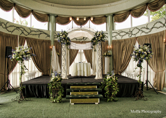 Wedding Ceremony At Mansion On Main Street South Jersey