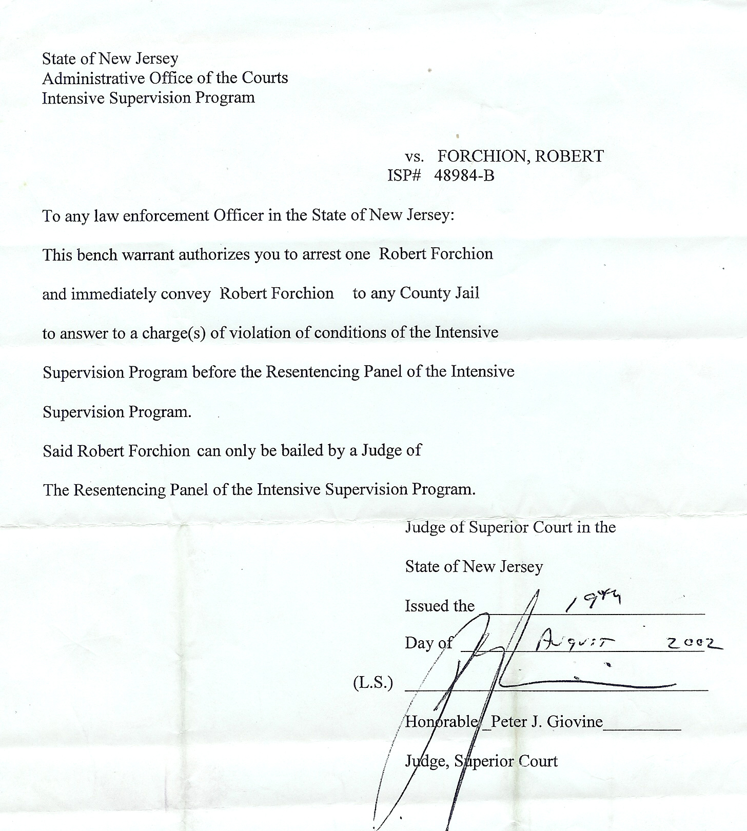 Sample Letter To Judge For Early Release Of Probation