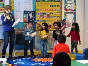 group music class for young children