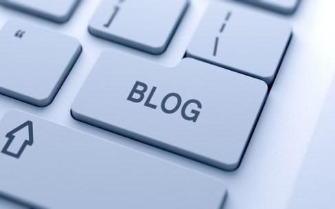 Blog sign button