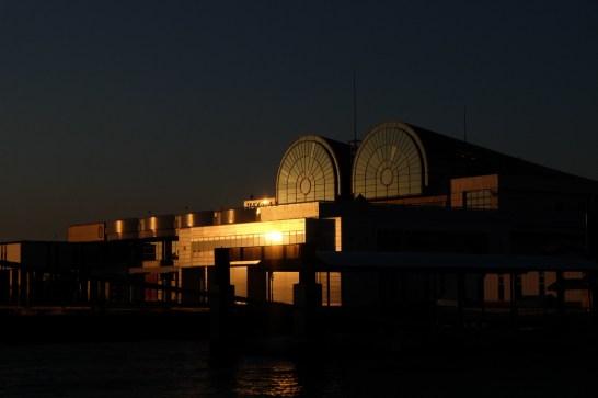 ベイサイドプレイス博多の夕日5