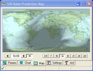 HamCap Map View