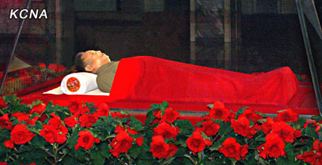 Image result for kim jong il grave