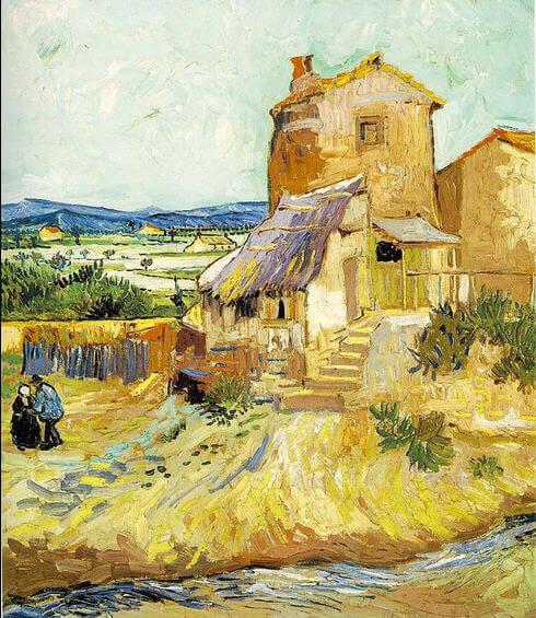 Vincent-van-Gogh-eski-degirmen