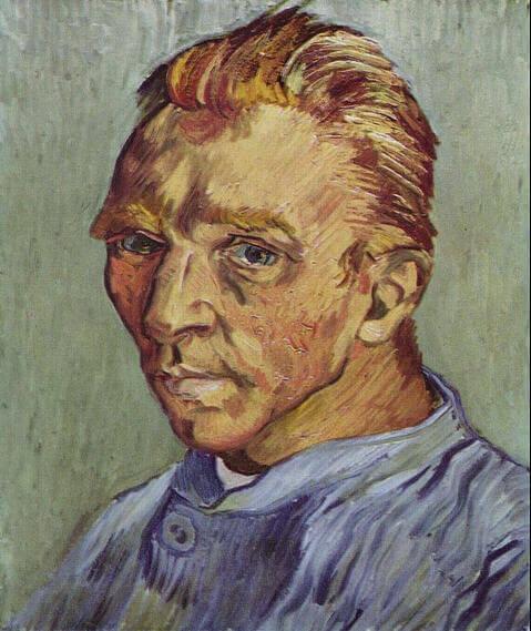 Vincent-van-Gogh-sakalsiz-otoportre