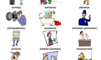 Resimli İngilizce Meslekler