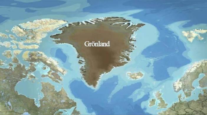 Grönland Haritası