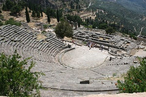 Antik Tiyatro - Delphi Yunanistan