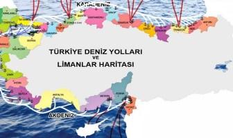 Türkiye deniz haritası