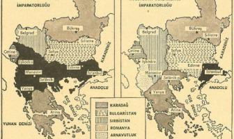 Balkan Savaşı Haritası