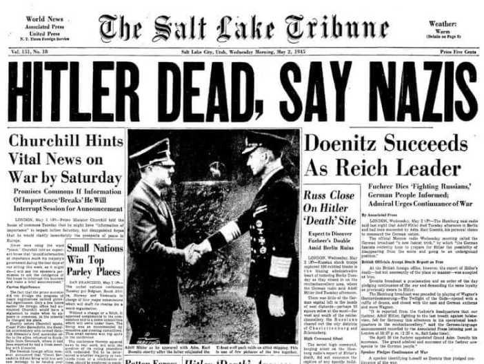 Hitler'in ölümü