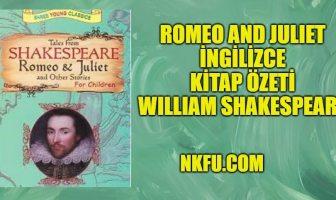 Romeo Ve Juliet Kitap İngilizce Özeti