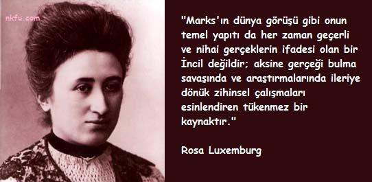 Rosa Luxemburg Resimli Sözleri