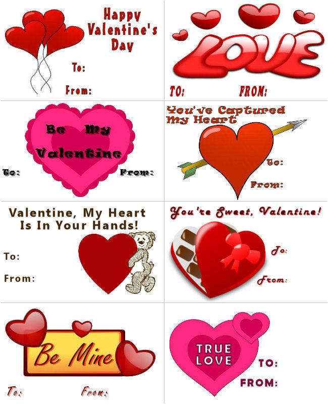 Sevgililer Günü kartları