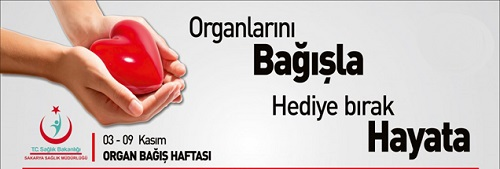 Organ Bağışı Afişleri