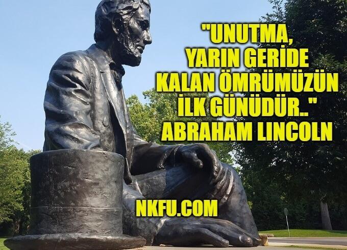 Abraham Lincoln Sözleri