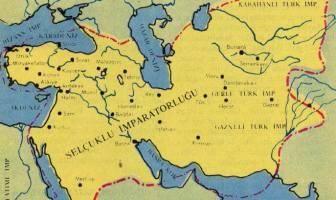 Büyük Selçuklu İmparatorluğu haritası