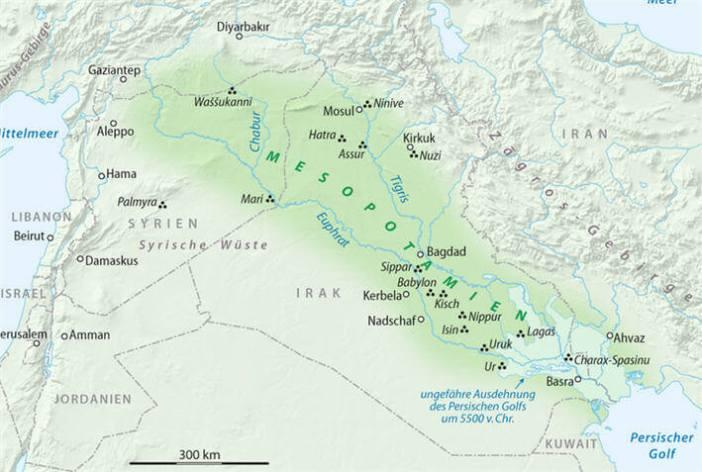 Mezopotamya Haritası