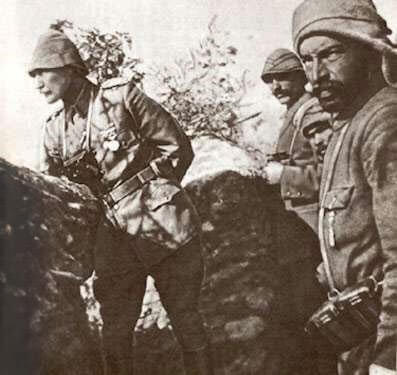 Mustafa Kemal Paşa Çanakkale Cephesinde