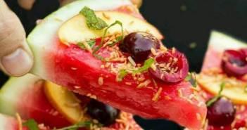 Meyveli Pizza Örnekleri – Karpuz İle Meyveli Pizza Nasıl Yapılır?