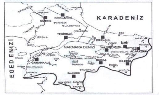 Türkiyenin Bölgeleri Nelerdir
