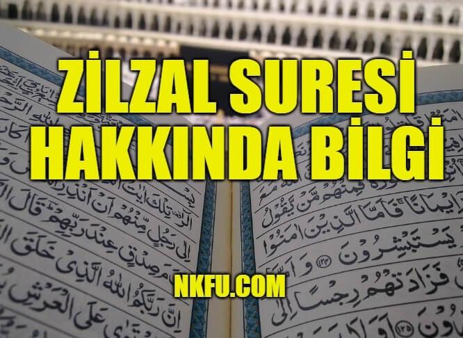 Zilzal Suresi