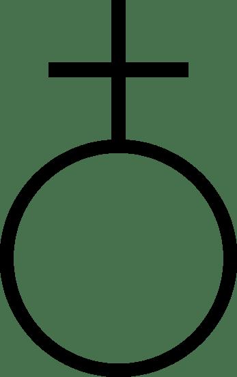 simyada Antimon sembolü