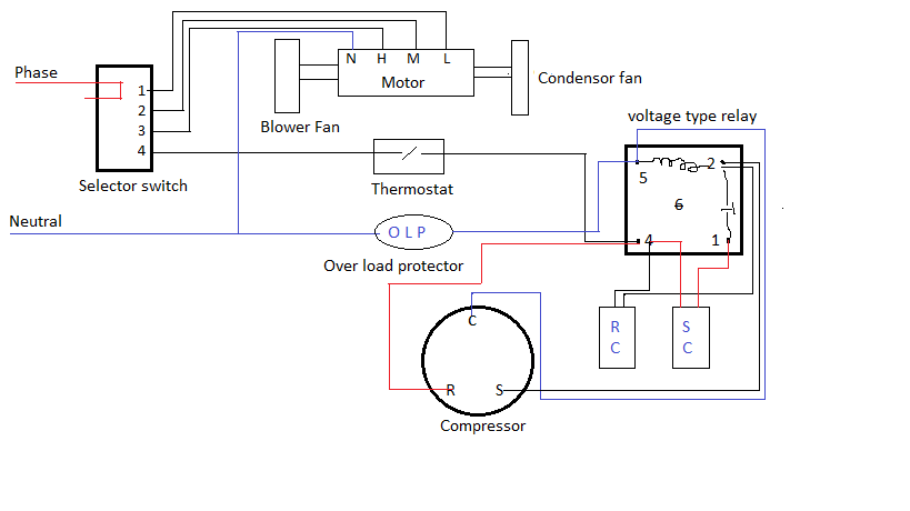 PSC circuit2?resize\\\\\\\\\\\\\\\=819%2C460\\\\\\\\\\\\\\\&ssl\\\\\\\\\\\\\\\=1 emerson compressor motor wiring diagram emerson wiring diagrams  at bayanpartner.co